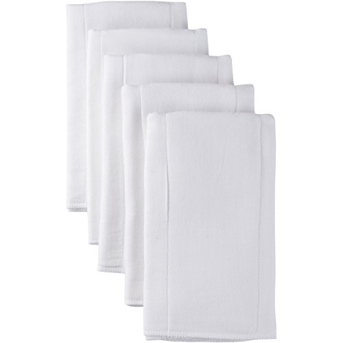Fold Cloth Diaper - Gerber Prefold Gauze Diaper, White, 5 Count