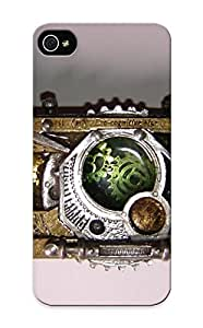 Hot Snap-on Steampunk Mechanical Tech Camera Gears Lens Hard Cover Case/ Protective Case For Iphone 5/5s
