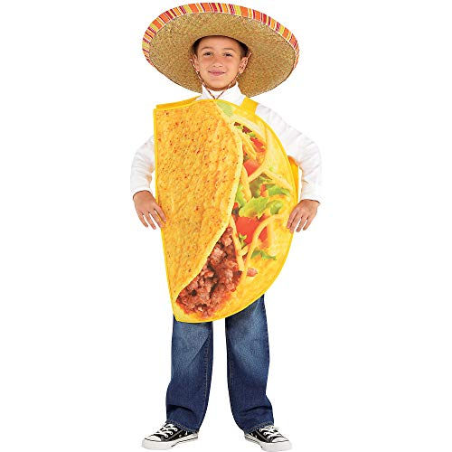 Taco Halloween Costume for Children, Medium, by Amscan