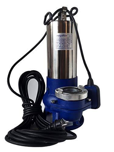 MTP2250Q megafixx Profi Schmutzwasser Tauchpumpe 50000 Liter 230 Volt inkl B-Storz Kupplung