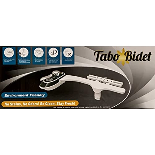 durable modeling TABO Bidet TB 630 - Dual front and Back wash for Women and Men! Self Cleansing Nozzle! Easy DIY attaches in minutes!