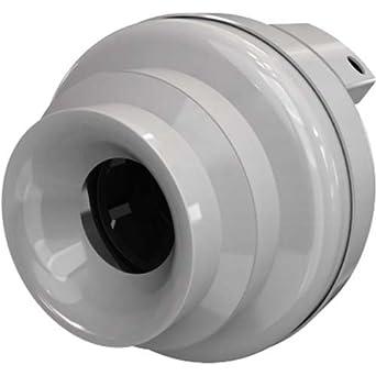 Fantech HP-190 In-Line Radon Fan 188 CFM Plastic: Amazon.com: Industrial & Scientific