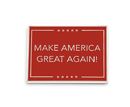 Make America Great Again Lapel Pins-- Proudly Made in USA! (1 Pin)