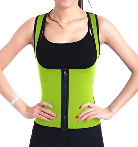 ValentinA Slimming Neoprene Vest Hot Sweat Shirt Body Shapers for Weight Loss - Cami Reverse
