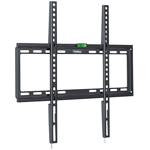 VonHaus Ultra Slim TV Wall Mount Bracket for 32-55'' LCD, LED, 3D & Plasma Screens - Max. VESA 400x400 by VonHaus