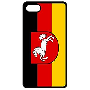 Lower Saxony Flag Black Apple Iphone 6 (4.7 Inch) Cell Phone Case - Cover