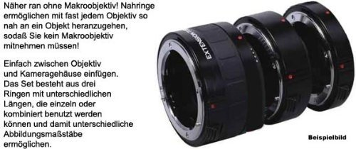 ProMaster Digital Extension Tube Set - fits Nikon Digita