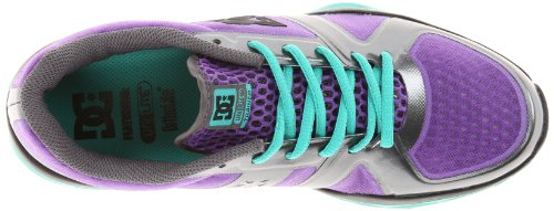 DC Womens Unilite Trainer Fashion Sneaker Purple/Green 1ED1Fnbs2