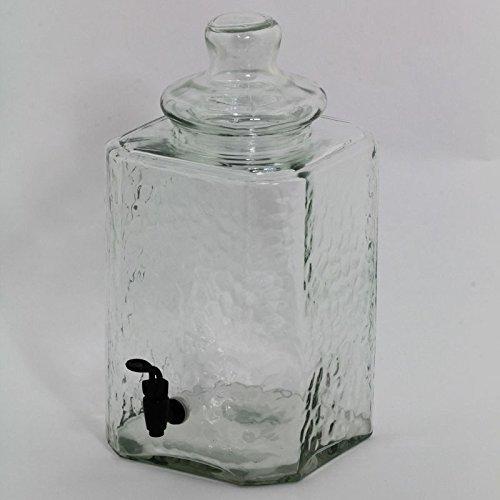 EN1785 Glass Jar Dispenser [Set of 2]
