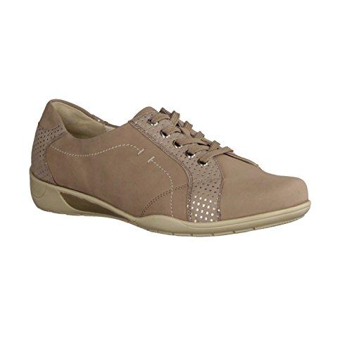 Waldläufer , Chaussures de ville à lacets pour femme Beige Beige