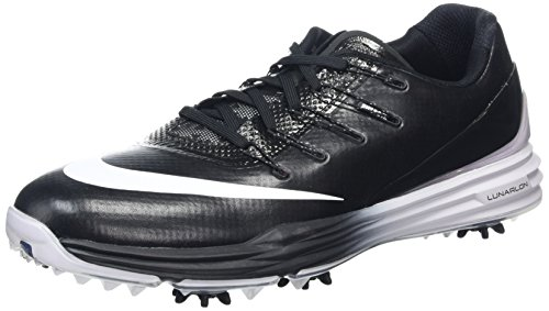 2016 Nike LUNAR CONTROL 4 Golf Shoes Medium -New- Grey/Black/Blue/White Black