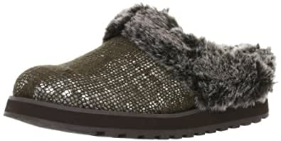 Skechers Keepsakes Pampered Womens Slipper Clogs Shoes Chocolate 11
