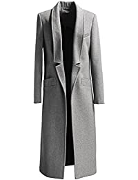 Amazon.com: Grey - Wool & Blends / Wool & Pea Coats: Clothing ...