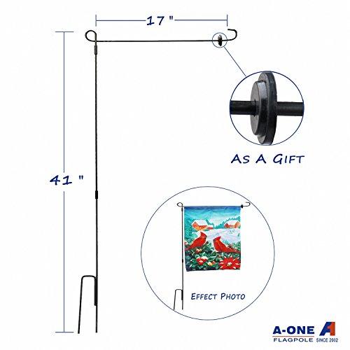 3 Piece Garden Flagpole - A-One 41