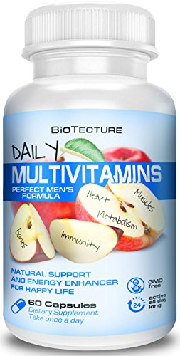 Daily Multivitamin Tablets   Best Dietary Supplement Formula  Helps Immune System  Provides Essential Minerals  Supports Digestion  Number One Vitamin Combination  Money Back Guarantee
