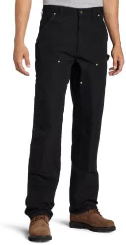 Carhartt Men's Double Front Duck Utility Work Dungaree Pant B01