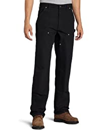 Carhartt Men's Double Front Duck Utility Work Dungaree...