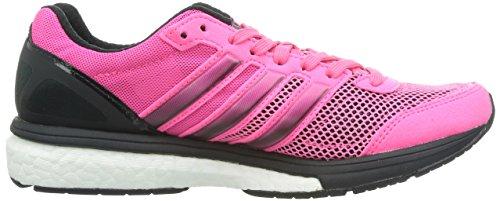 adidas Performance Adizero Boston Boost 5 - Zapatillas De Runing para hombre Pink (Neon Pink / Neon Pink / Black 1)