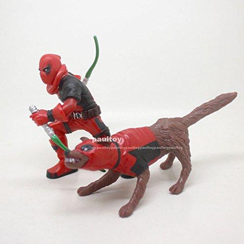 Universe KIDPOOL SDCC Deadpool &DOGPOOL Figure Toy 3.75