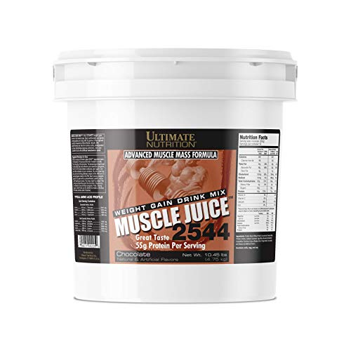 (Ultimate Nutrition Muscle Juice 2544 Classic Gainer Protein (Chocolate, 10 Pounds))