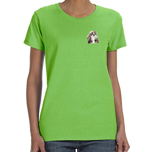 Shih Tzu Embroidered T-shirt - 4