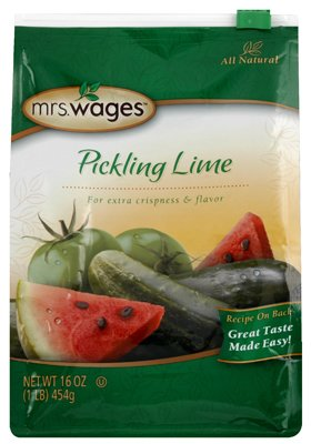 Mrs. Wages Pickling Lime Seasoning