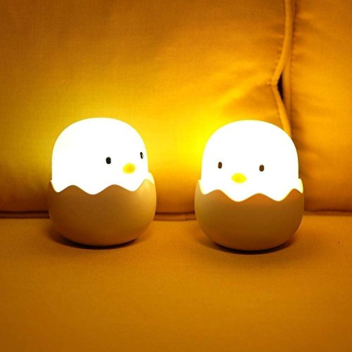(Updated Version)Tecboss Night Light for Kids, Baby Night Light Touch Control Rechargeable Nursery Lamp Cute Chick Nightlights for Breastfeeding Kids Children Room by Tecboss (Image #8)