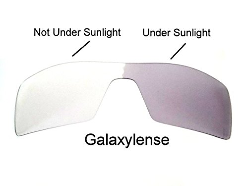 Galaxy Replacement lenses For Oakley Oil Rig Polarized Multiple-Color Available (Standard, Photochromic Transition Change to Darker Grey - Lenses Change Oakley