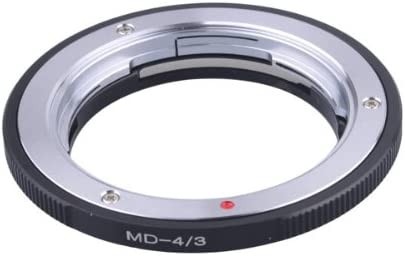 Pixco Lens Adapter for Minolta MD MC Mount Lens to Olympus OM4//3 43 Adapter for E-510 E500 E3 E510 E30 E-1