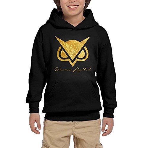 Custom Kids Hoodie (WOJOUFORHT Custom VanossGaming Owl Youtube Star Background Hoodie Youth)