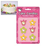 : Hello Kitty Mini Cake Candles 6ct