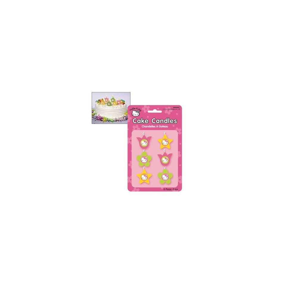 Hello Kitty Mini Cake Candles 6ct
