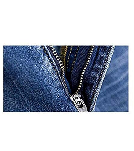 Women's Maxi Pencil Jean Skirt- High Waisted A-Line Long Denim Skirts for Ladies- Blue Jean Skirt