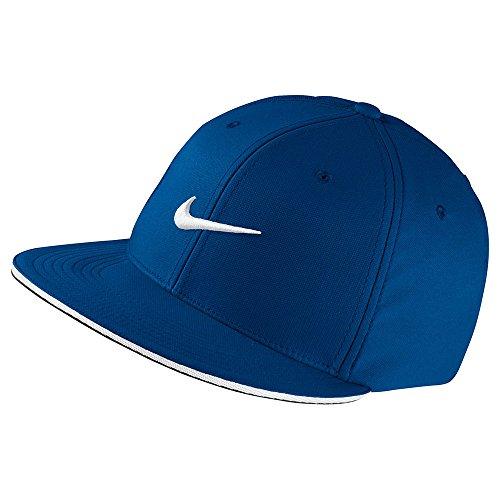 (Nike Golf True Statement Golf Cap 2017 Blue Jay/White Medium/Large)