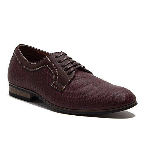Ferro Aldo Mens 19380dl Perforé En Cuir Doublé Lace Up Oxford Robe Chaussures Vin