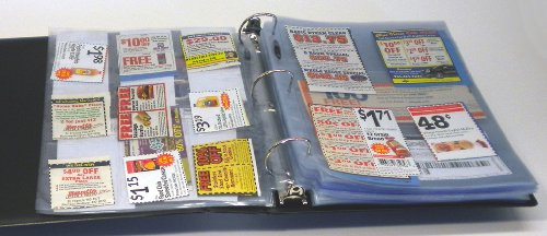 Coupon Binder Pages - 50 Page Assortment + Bonus Sleeve