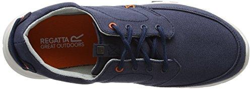 Regatta RMF482, Zapatillas Hombre Azul (Nvyblz/Magma)