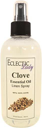 Clove Essential Oil Linen Spray, 8 ounces