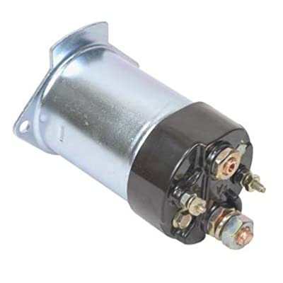 New Starter Solenoid Replacement For Massey Ferguson Farm Tractor MF-245 MF-255: Automotive