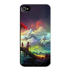 Black THE WORM WORLD SAGA Protective Hard Case For Iphone 5