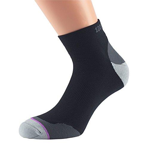 1000 chelsocks Mile Walking Calcetines Socken negros Kn Fusion Uq1UwrnA