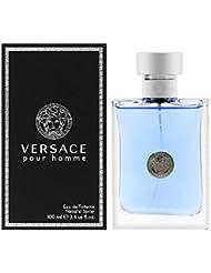 Versace Pour Homme Eau De Toilette Natural Spray 3.4 Fl Oz