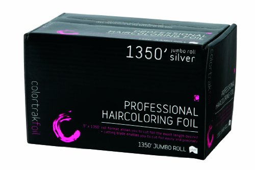 Foil Roll - Colortrak Professional Highlighting Foil Roll, Silver (1350 feet)