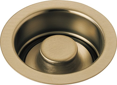 Delta Faucet 72030-CZ Disposal and Flange Stopper, Kitchen, Champagne Bronze ()