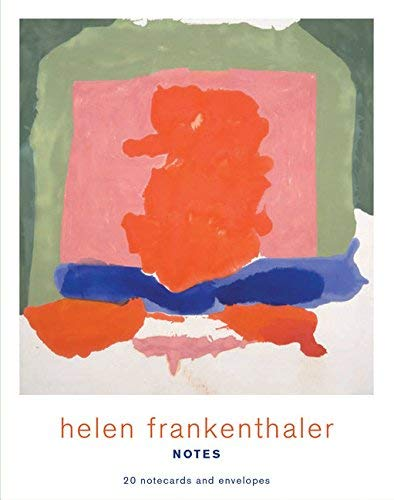 Helen Frankenthaler Notes: 20 Notecards and Envelopes (Abstract Art Stationery, Famous Artist Note Cards) from Chronicle Books