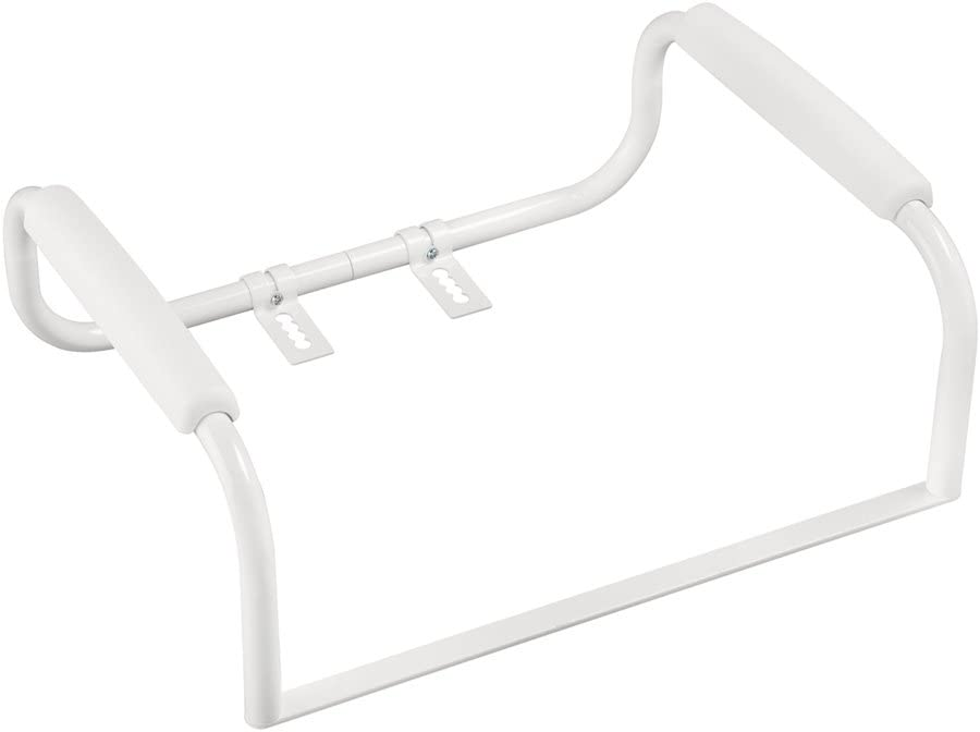 B002X7ABHA Safety First S1F575 Toilet Safety Bar, White 41BkUABrJWL