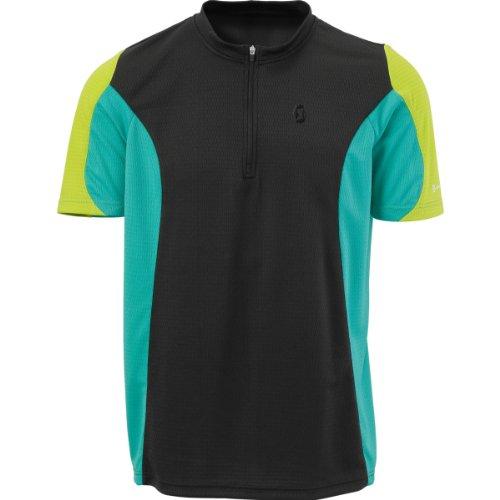 SCOTT Mens Path 40 Short Sleeve Cycling Jersey Zip Neck T Shirt 221581157200 (XX-Large)