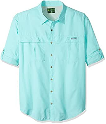 G h bass co men 39 s big and tall explorer for Big and tall fishing shirts