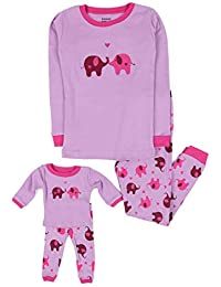 Kids & Toddler Pajamas Matching Doll & Girls Pajamas 100%...