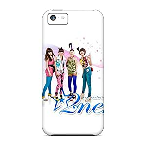 durable phone cover case pattern Ultra iphone 4 /4s - 2ne1